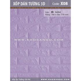 Xốp dán tường 3D X08