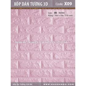 Xốp dán tường 3D X09