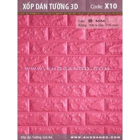 Xốp dán tường 3D X10