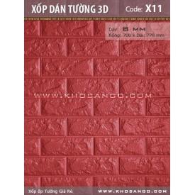 Xốp dán tường 3D X11