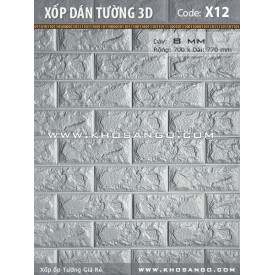 Xốp dán tường 3D X12