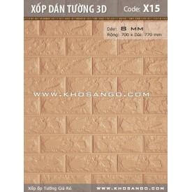 Xốp dán tường 3D X15