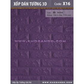 Xốp dán tường 3D X16