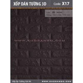 Xốp dán tường 3D X17