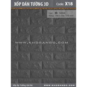 Xốp dán tường 3D X18