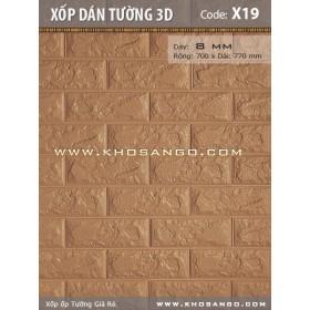 Xốp dán tường 3D X19