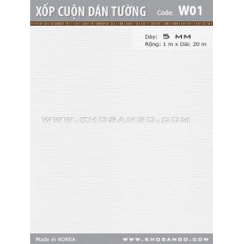 Xốp cuộn dán tường W01