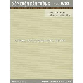 Xốp cuộn dán tường W02