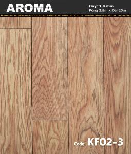 Sàn nhựa cuộn Aroma KF02-3