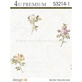 Giấy dán tường 4U Premium 53214-1