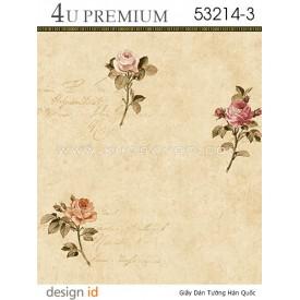 Giấy dán tường 4U Premium 53214-3