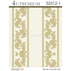 Giấy dán tường 4U Premium 53312-1