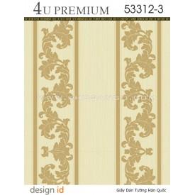 Giấy dán tường 4U Premium 53312-3