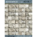 Giấy dán tường Assemble 40108-1