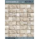 Giấy dán tường Assemble 40108-3