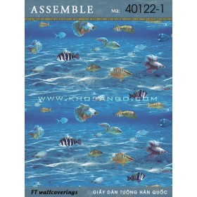 Giấy dán tường Assemble 40122-1