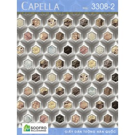 Giấy dán tường Capella 3308-2