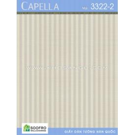 Giấy dán tường Capella 3322-2