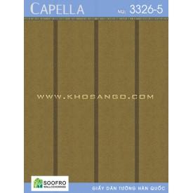 Giấy dán tường Capella 3326-5