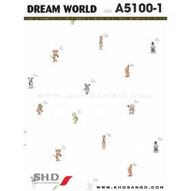 Giấy dán tường Dream World A5100-1