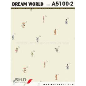 Giấy dán tường Dream World A5100-2