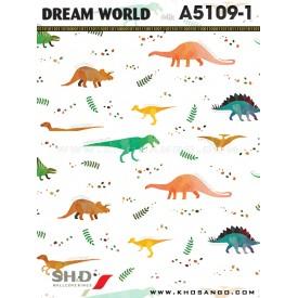 Giấy dán tường Dream World A5109-1