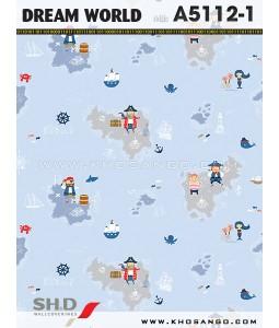Dream World wallpaper A5112-1