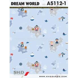 Giấy dán tường Dream World A5112-1