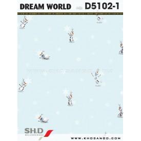 Giấy dán tường Dream World D5102-1