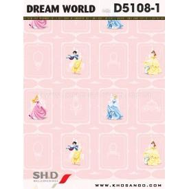 Giấy dán tường Dream World D5108-1