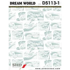 Giấy dán tường Dream World D5113-1