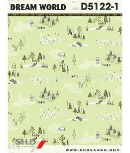 Dream World wallpaper D5122-1