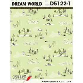 Giấy dán tường Dream World D5122-1