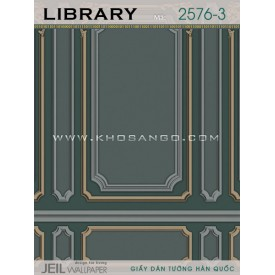 Giấy dán tường LIBRARY 2576-3