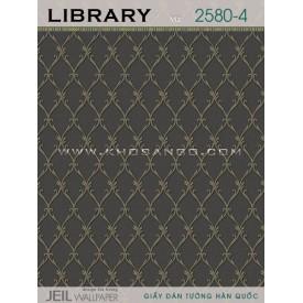 Giấy dán tường LIBRARY 2580-4