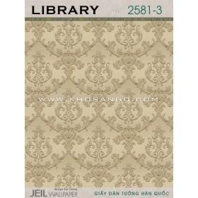 Giấy dán tường LIBRARY 2581-3