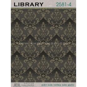 Giấy dán tường LIBRARY 2581-4