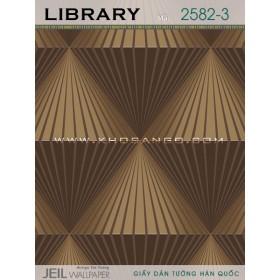 Giấy dán tường LIBRARY 2582-3