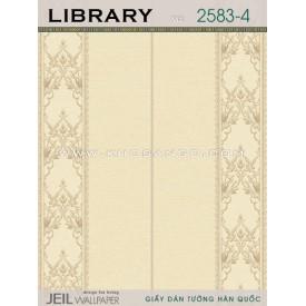 Giấy dán tường LIBRARY 2583-4
