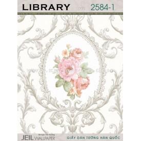 Giấy dán tường LIBRARY 2584-1