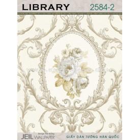 Giấy dán tường LIBRARY 2584-2