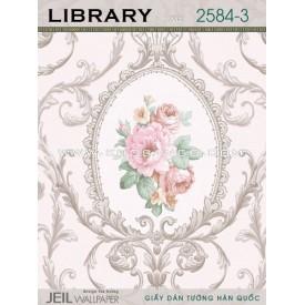 Giấy dán tường LIBRARY 2584-3