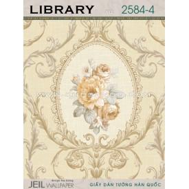 Giấy dán tường LIBRARY 2584-4