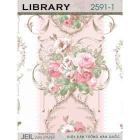 Giấy dán tường LIBRARY 2591-1