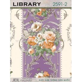 Giấy dán tường LIBRARY 2591-2