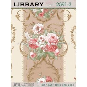 Giấy dán tường LIBRARY 2591-3