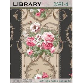 Giấy dán tường LIBRARY 2591-4