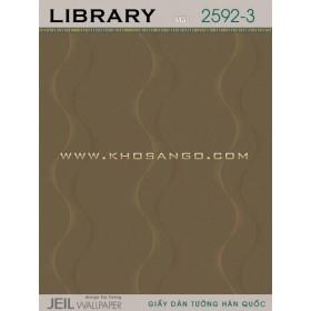 Giấy dán tường LIBRARY 2592-3