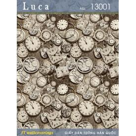 Giấy dán tường Luca 13001