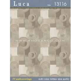 Giấy dán tường Luca 13116